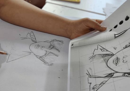 Private Pencil Portrait & Sketch Crawl for Heading Class