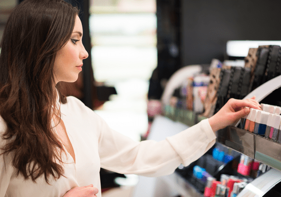 Personal Shopping for Makeup with Inas