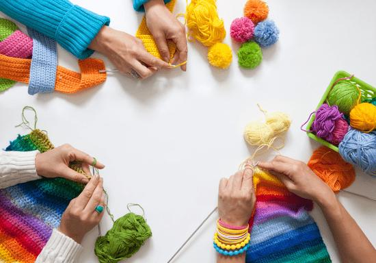 Crochet & Knitting Workshop (Beginners & Advanced)