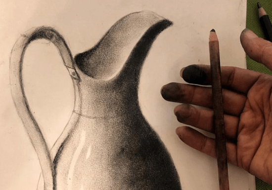 Online Class: Dry Pastel & Charcoal Drawing for Kids - Ages: 6-16