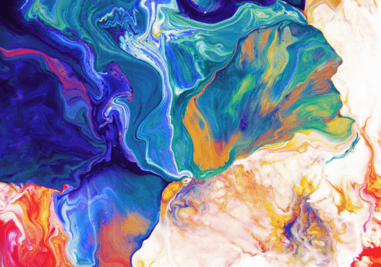 Abstract Art with Resin or Acrylic Pouring