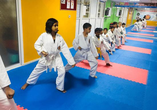 Karate for Kids - Ages: 5-14 (Khalidiyah)