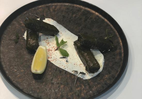 Dolmadakia, Tzatziki & Feta Spicy Dip with Chef Alexandros