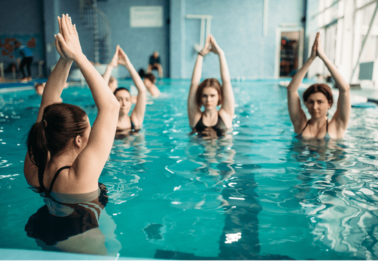 Female Group Swimming Classes with Female Instructor
