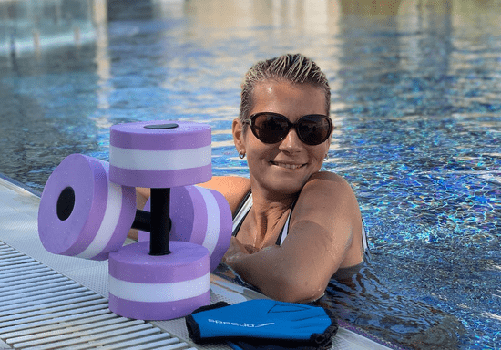At-Home Aqua Fitness with Alisa