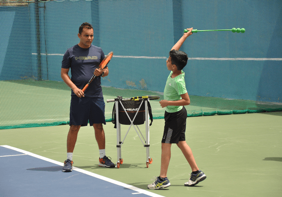 Beginner's Tennis Group Lessons with Coach Amar