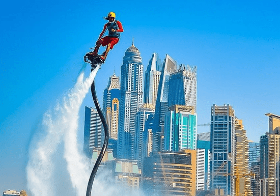 Brave the Flyboard