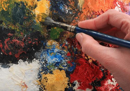 Abstract Painting & Mixed Media with Diyali