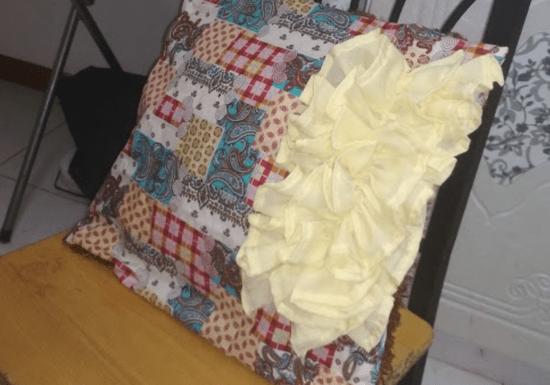Online Class: DIY Raffled Cushion for Beginners