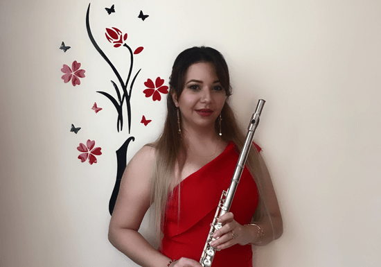 Private Flute Classes with Roxana