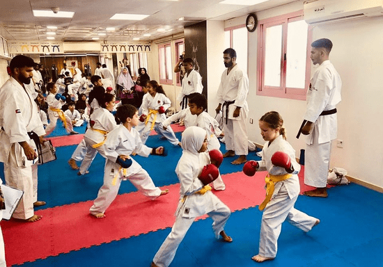 Kids Karate Classes - Ages: 3-4 (Khalifa City)