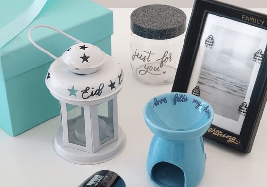 DIY Personalized Gifts with Embossed Lettering