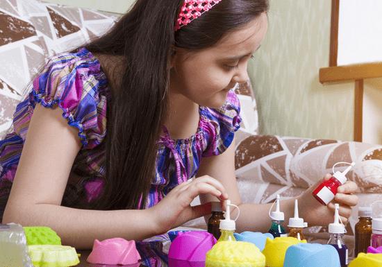 DIY Natural Soap Molding for Kids - Ages: 7-16