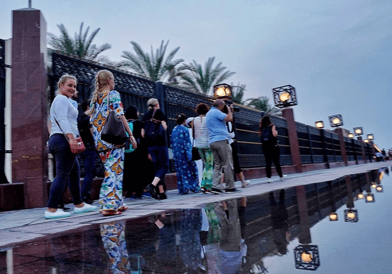 Local Neighborhood Walk with an Emirati Guide: Experience for Two