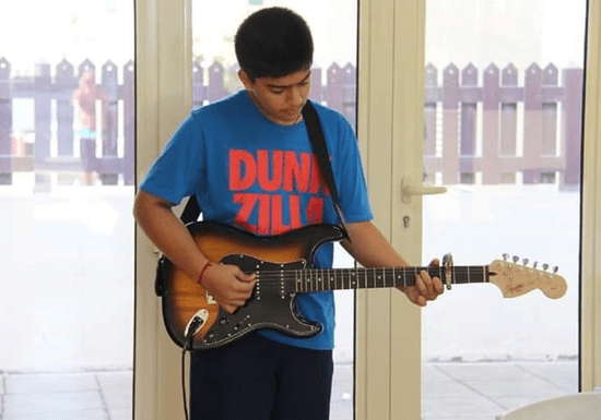 Private Guitar Classes with Rizwan