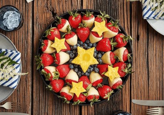 DIY Edible Fruit Arrangement