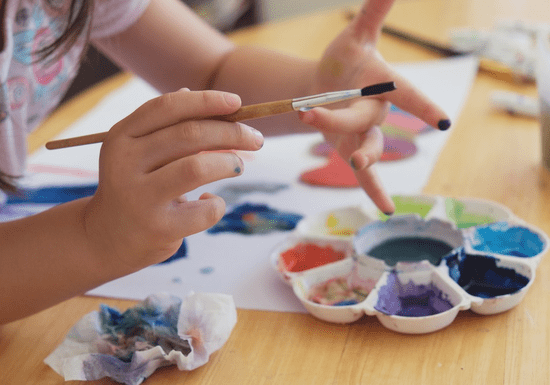 Private Acrylic & Oil Painting for Kids - Ages: 5-15