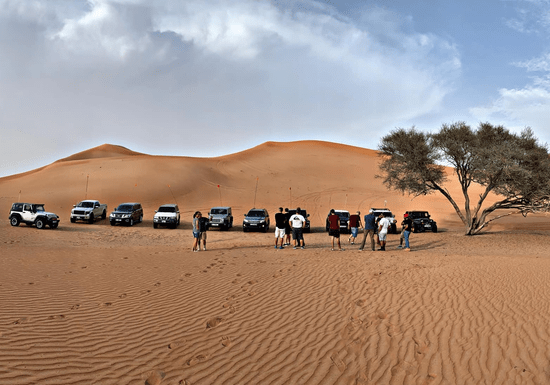 Drive Your 4x4 in a Guided Desert Adventure