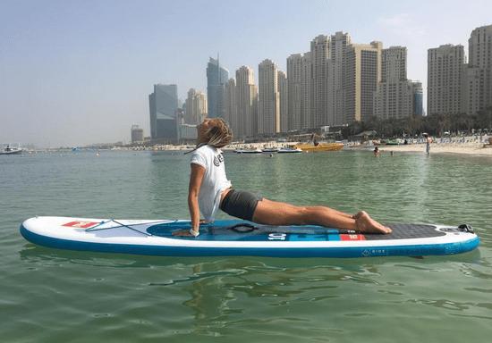 Wa-SUP! Stand-Up Paddleboarding Yoga