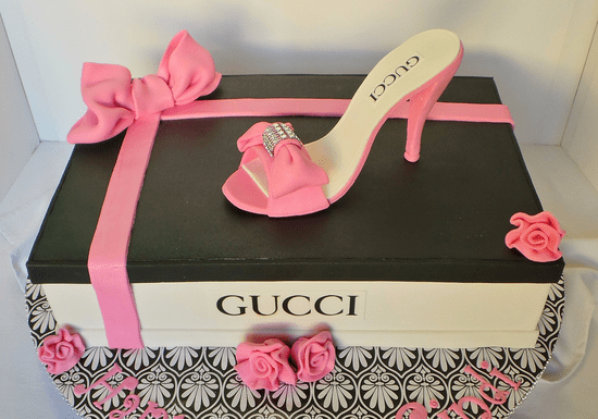 Shoe Box & Stiletto Cake
