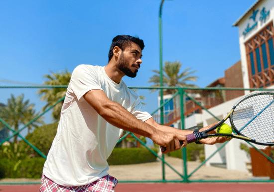 Group Tennis Coaching for Intermediate Players (Al Safa)