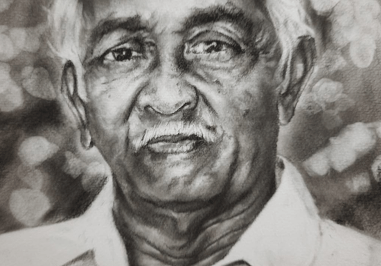 Online Class: Realistic Charcoal Portraits with Meril