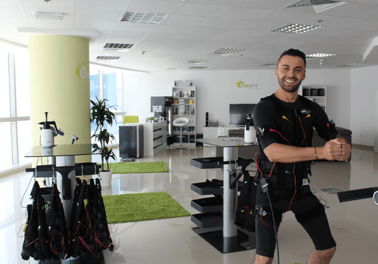 Electrical Muscle Stimulation (EMS) With Private Trainer - Marina