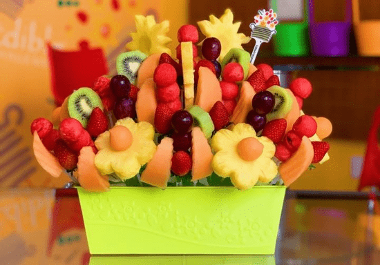 DIY Edible Fruit Arrangement for Kids - Ages: 5-17