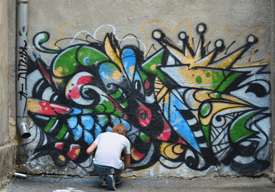 Learn Graffiti with a Pro Artist