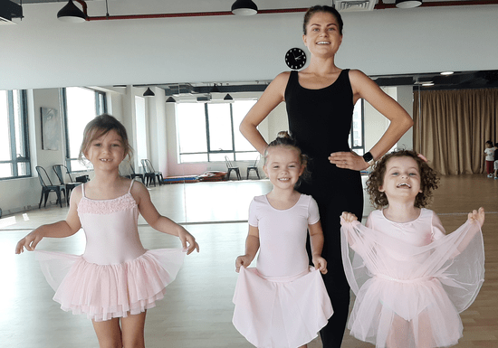 Group Ballet Classes for Kids - Ages: 3-13