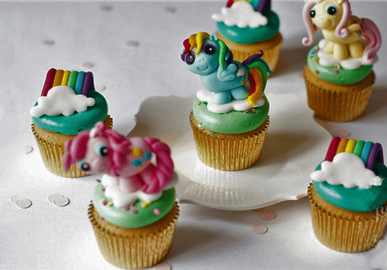 3D Cupcake Toppers