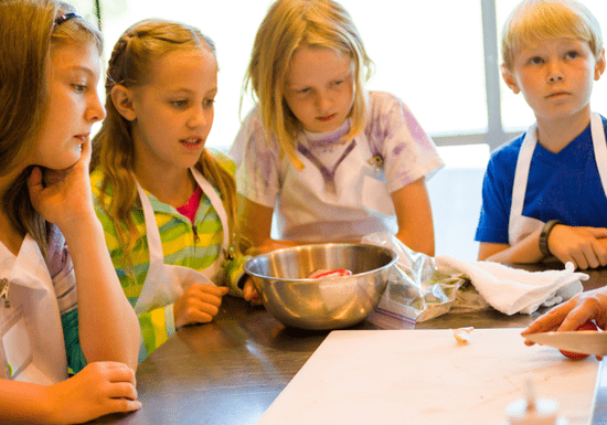 Mini Chef Cooking Camp 101 - Ages: 4-12