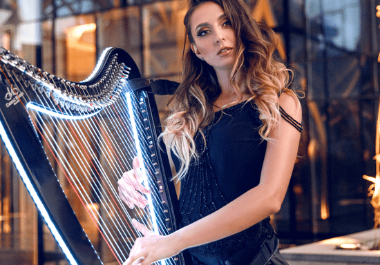 Online Class: Private Harp Lessons with Kate for Ages: 5-16