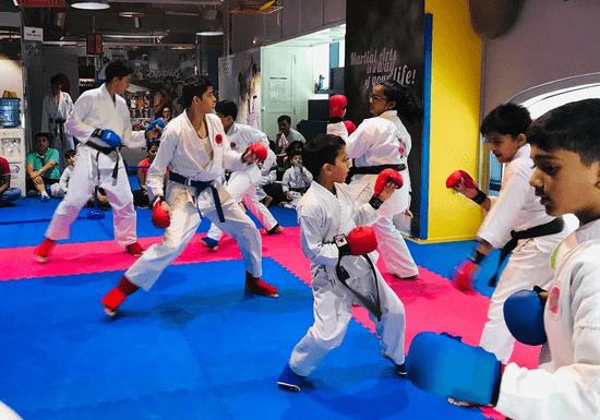 Junior Kickboxing Classes - Ages: 11-15 (Khalifa City)