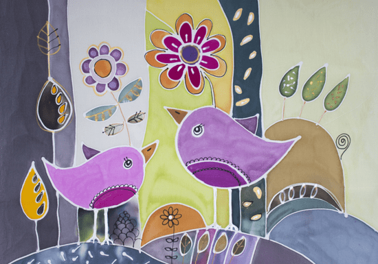Online Class: Traditional Wall Silk Painting with Luna