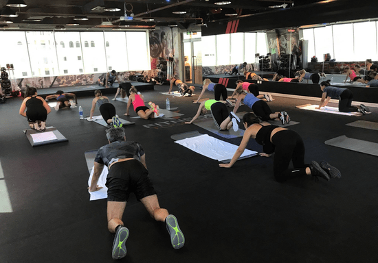 Abs/Core Fitness Class