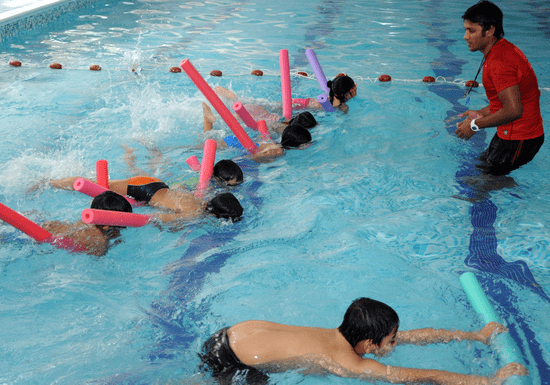 Group Swimming Lessons for Kids - Ages: 3-14 (Al Warqaa)