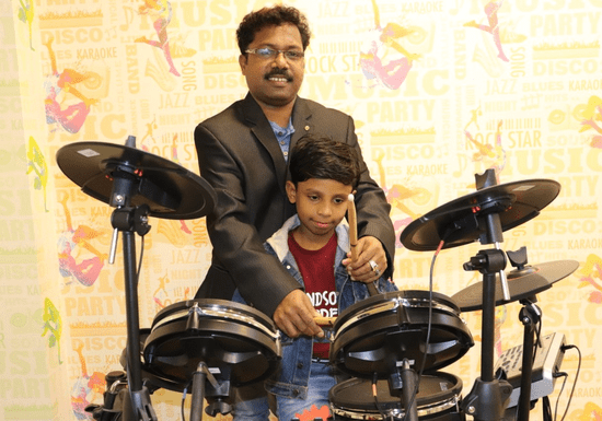 Drum Group Class for Kids - Ages: 4-16