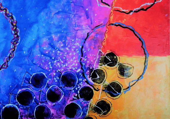 Abstract Painting for Kids - Ages: 7-12