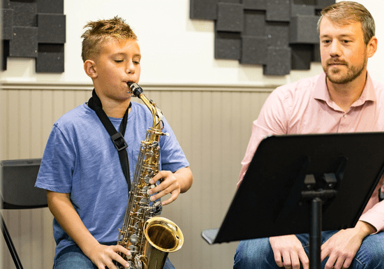 1-on-1 Saxophone Lessons with Andrii