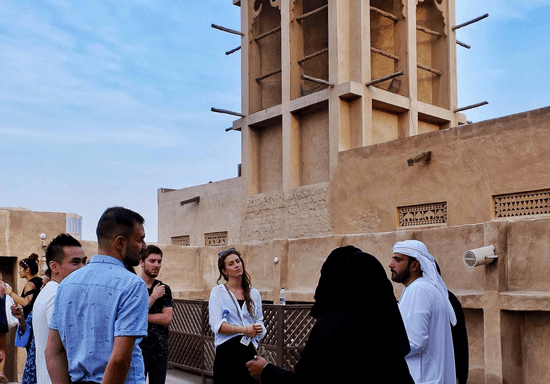 Old Dubai Walking Tour with an Emirati Guide: Experience for Two