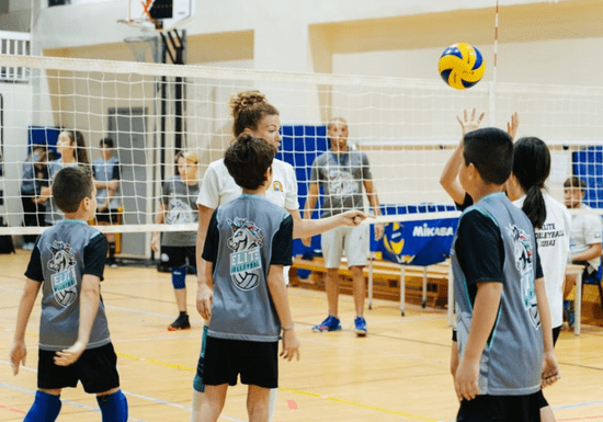 Volleyball Classes for Kids- Ages: 6-15 (Jumeirah Park)