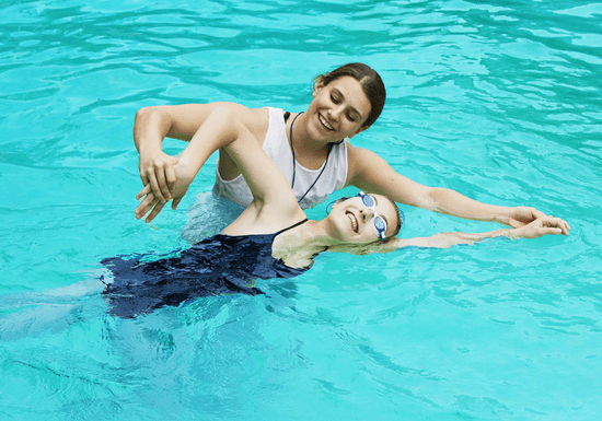 Private Swimming Classes for Girls & Ladies (Female Instructor)