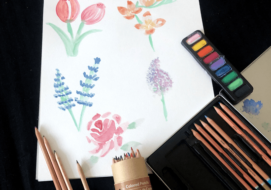 Beginners Water Color Painting for Kids - Ages: 5-13