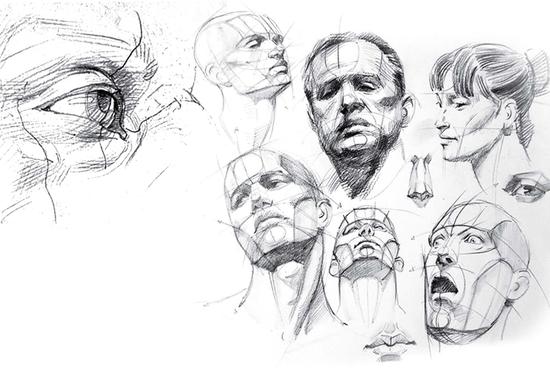 Figurative Drawing, Portrait Sketching & Art Anatomy Simplified