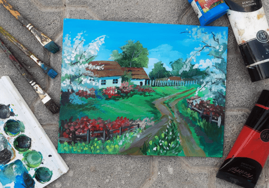 Online Class: Acrylic Painting with Meril