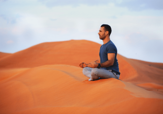 Relaxing Guided Meditation with Moe Khattab