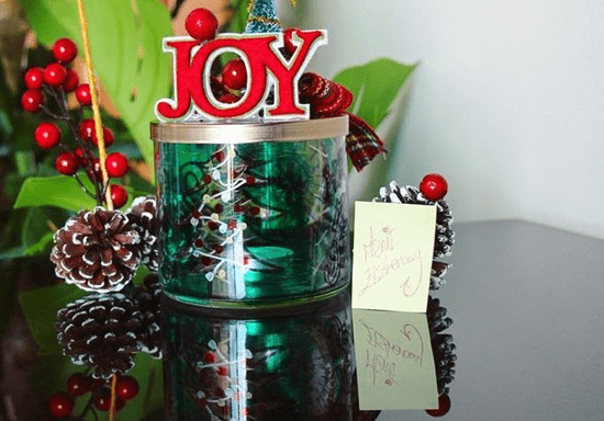 Upcycle used Candle Jars with Merit