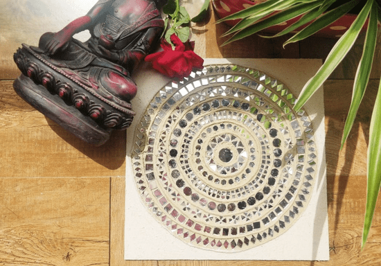 Clay & Mirror Art: Learn Kutch Lippan Kaam