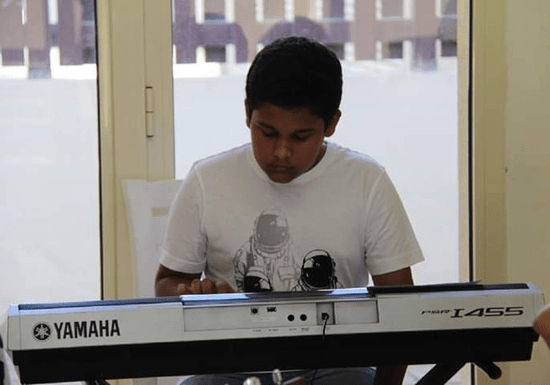 Private Keyboard Classes with Rizwan